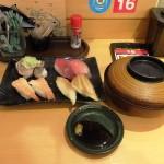 回転寿司のランチ