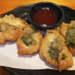 鶏しそ巻天ぷら