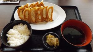 W焼き餃子定食