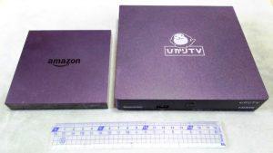 Amazon Fire TV と ひかりTV のセットアップボックス