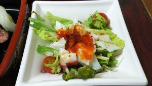 海鮮サラダ|つきじ海賓