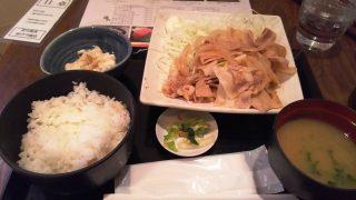 たっぷり豚生姜焼き定食|カドクラ商店