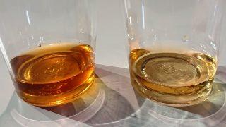 一番搾りと二番搾り(比較)|キリンビール 横浜工場