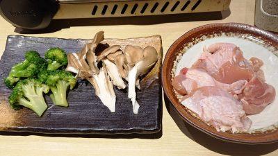 野菜と鶏肉|藍屋 武蔵小杉店